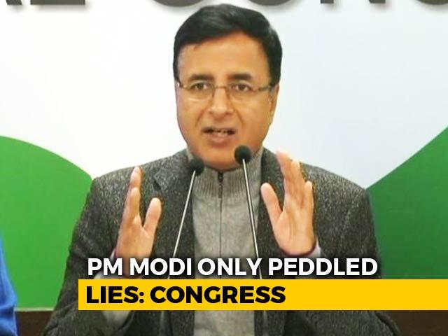 "Video : ""I, Me, Mine, Myself"": Congress 'Sums Up' PM Modi's Interview"