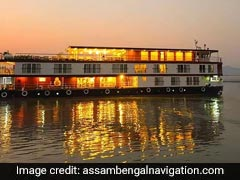 Sneek Peak: Luxury Cruise Ship On The Brahmaputra River