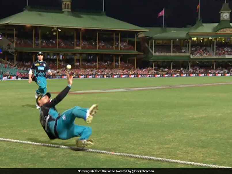 Watch: Brendon McCullums Incredible Boundary-Line Save Sparks Debate On Twitter