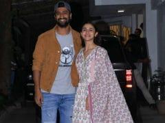It Was A <i>Raazi</i> Reunion For Alia Bhatt And Vicky Kaushal At The <i>Uri</i> Screening. See Pics
