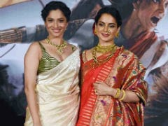 Amidst <I>Manikarnika</I> Row, Ankita Lokhande Says Kangana Ranaut Is A 'Fantastic' Director