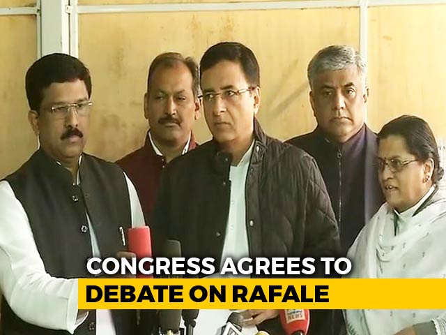"Video : ""What's The Rafale Secret In Manohar Parrikar's Bedroom?"" Congress To PM"