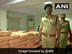 100 Kg Marijuana Seized By Excise Officials In Hyderabad, Arrest 2