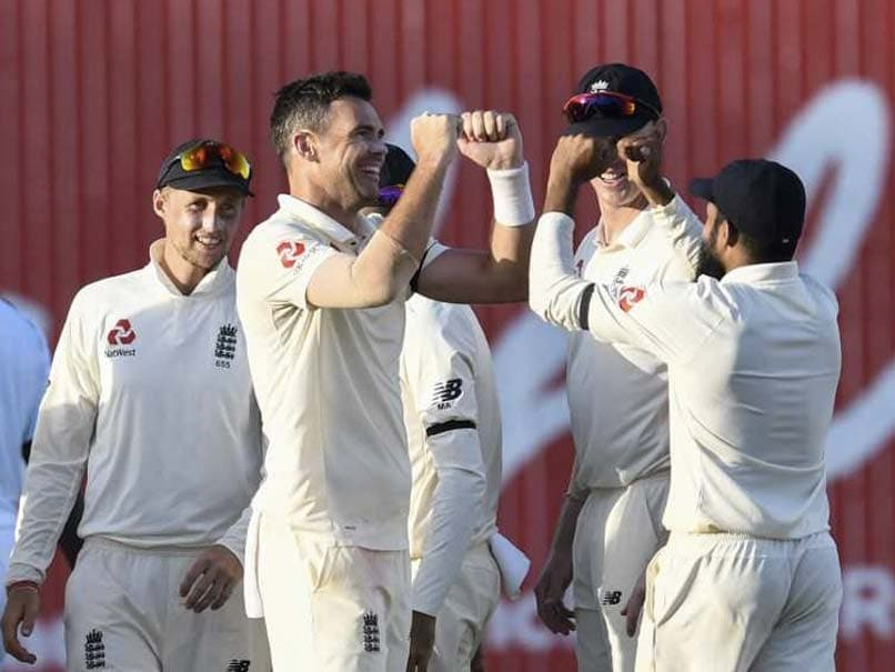 1st Test: James Anderson Late Show Dents Windies Progress vs England