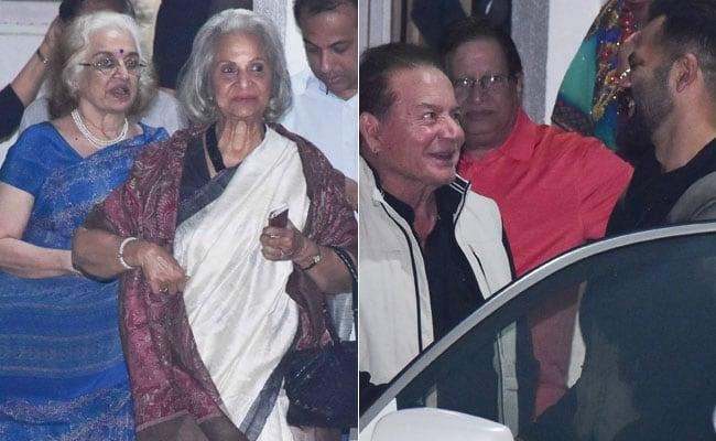 Simmba Screening: Waheeda Rehman, Asha Parekh, Helen And Salim Khan Watch Rohit Shetty's Film