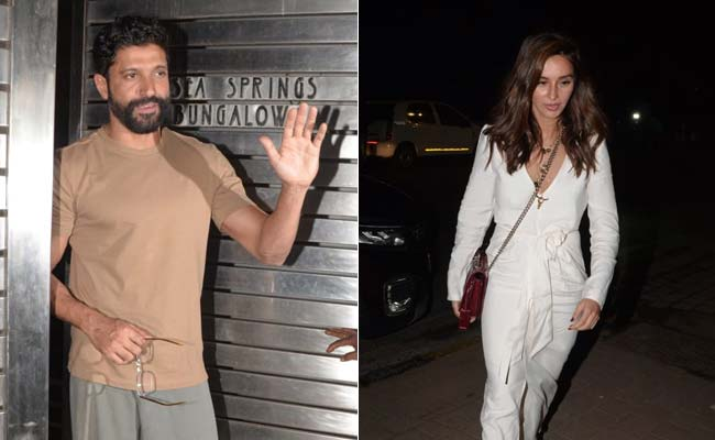 Farhan Akhtar's 45th Birthday Bash Attended By Rumoured Girlfriend Shibani Dandekar And Others
