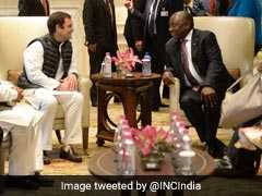 Cyril Ramaphosa Meets Rahul Gandhi, Invites Him To South Africa