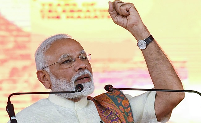 Hung Parliament Stalled Development For 30 Years: PM Modi In Surat