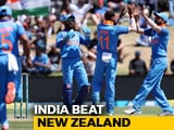 Video : India Rout New Zealand, Win ODI Series 3-0
