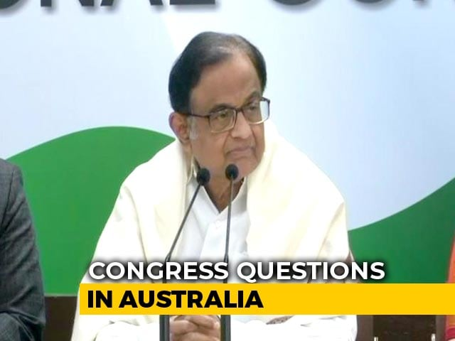 "Video : ""Dassault Laughed All Way To Bank"": P Chidambaram's Dig On Rafale Deal"