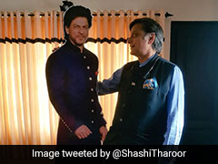 "Stunned By Hotel's SRK ""Shrine"", Shashi Tharoor Posts ""No Place For Rest"""