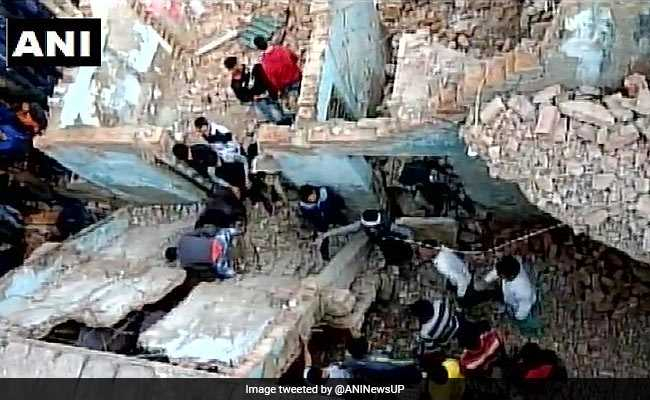 10-Year-Old Killed, 3 Injured After Building Collapses In Noida