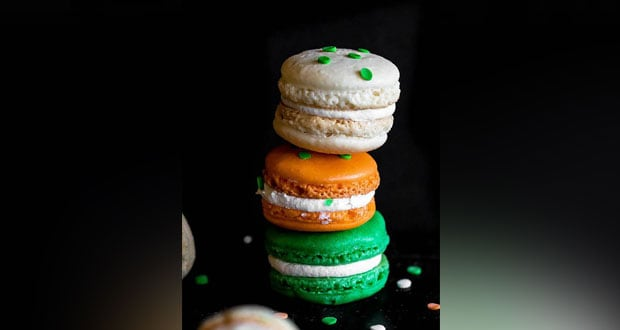 Tricolor Macaroons