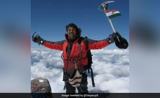 At 35, Satyarup Siddhanta Becomes World's Youngest To Climb 7 Volcanic Peaks