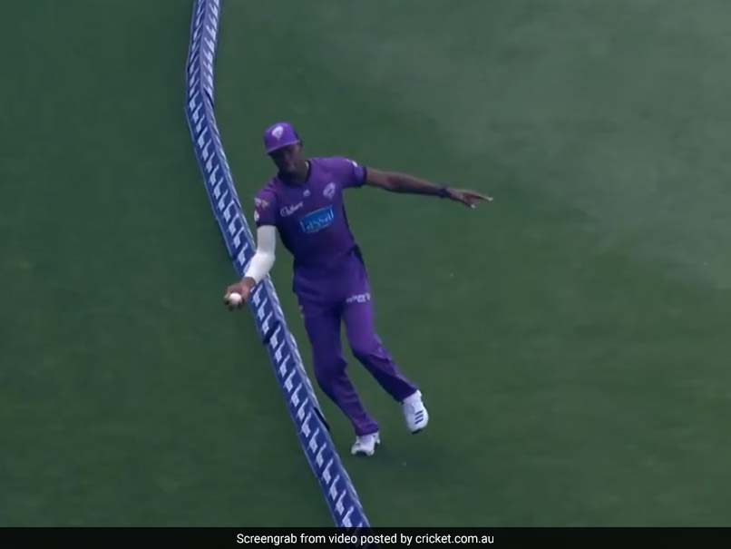 Jofra Archer Shows Off Fielding Skills, Takes Incredible Catch Near Boundary Rope. Watch