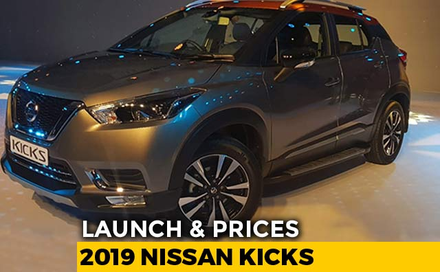 2019 Nissan Kicks Launch Prices