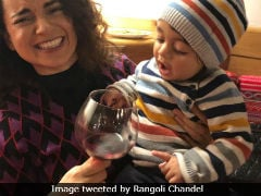 Kangana Ranaut Continues New Year's Celebrations With Family In Manali. See Pics