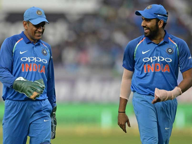 India vs Australia: MS Dhoni Is Like A Guiding Light For Team India, Says Rohit Sharma
