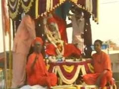 At State Funeral, Thousands Pay Tribute To Shivakumara Swami In Karnataka