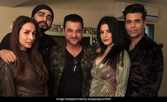 Malaika Arora And Arjun Kapoor Ring In The New Year Together At Sanjay Kapoor's Party