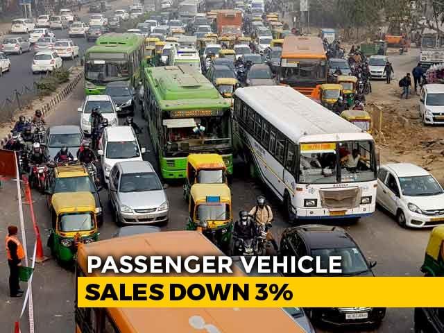 Video : Passenger Vehicle Sales Drop 3% In December: Dealers' Body