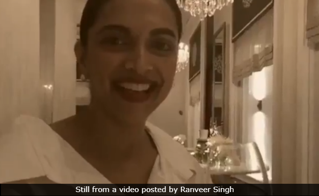 Seen This Video Of Deepika Padukone Recreating Ranveer Singh's Simmba Dialogue?