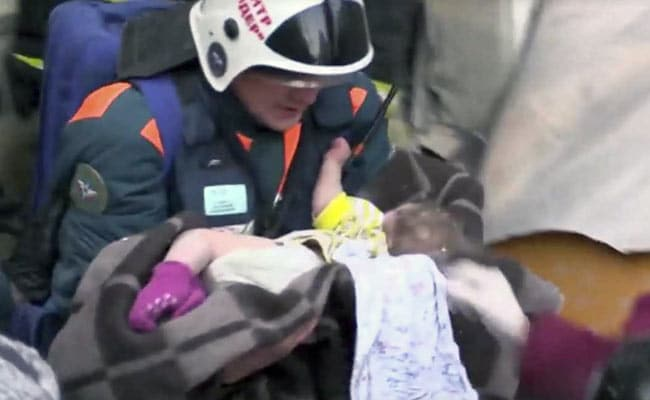 35 Hours After Russia Blast, Baby Boy Found Alive Under Rubble
