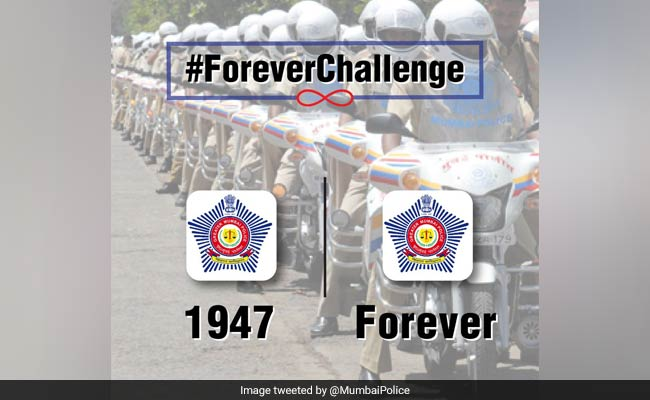 Mumbai Police Takes The #10YearChallenge And It's The Best One Yet