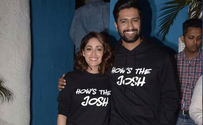 As Uri Burns Up The Box Office Vicky Kaushal And Yami Gautam