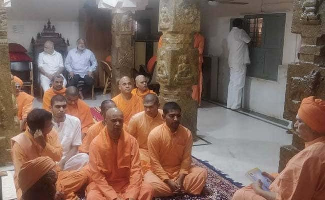 Karnataka Seer, 111, Critical; HD Kumaraswamy, Top Leaders Visit Him