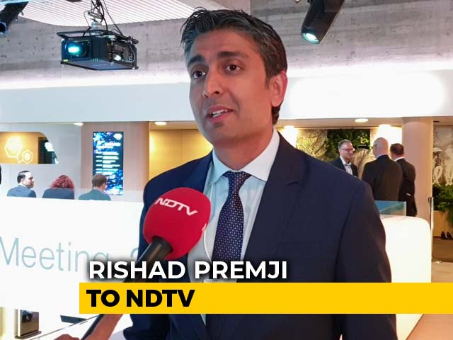 Video : Tremendous Opportunity For Indian IT Industry: Wipro's Rishad Premji