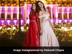 Seen This Viral Pic Of The Chopra '<i>Behenein</i>' From Priyanka And Nick's Wedding Festivities