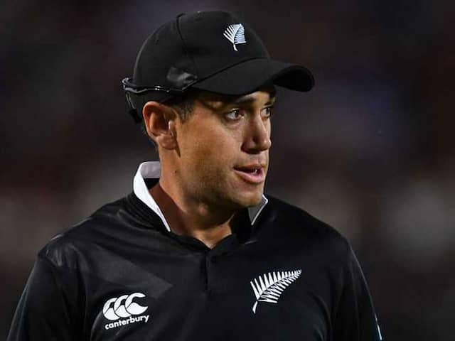 """""""Series Loss Tough To Swallow, India Far Better Side"""": Ross Taylor"""