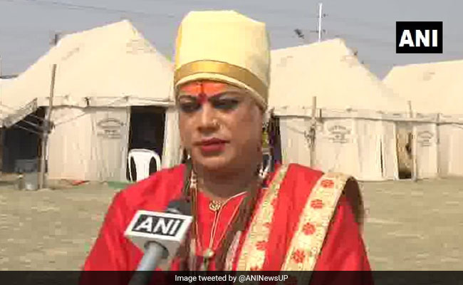 Transgender 'Akhada' Makes Debut At Kumbh Mela In Prayagraj