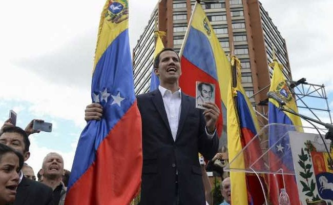 US Calls On Venezuela's Military To Join Opposition Leader's Camp
