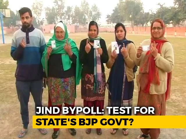 Video : Key Haryana Bypoll Today A Test For BJP Ahead Of Lok Sabha Elections