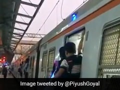 Blue Light Indicator On Mumbai Locals To Warn Passengers Of Moving Trains