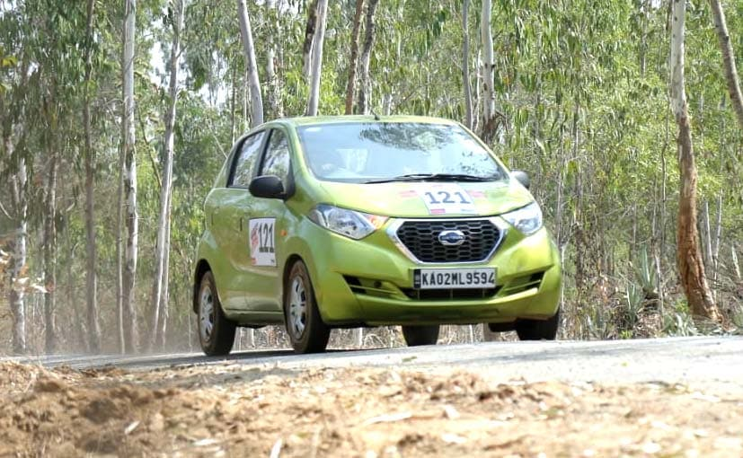 The two-day rally was held from Bengaluru to Chikmagaluru on day 1 and moves to Coorg on day 2