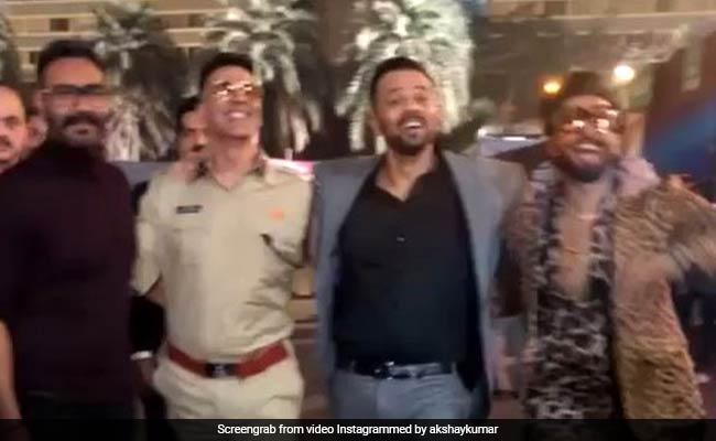 'सिंघम', 'सिंबा' और 'सूर्यवंशी' ने एक साथ मारी जबरदस्त किक, Video ने उड़ाया गरदा