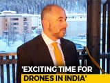 Video : WEF's Timothy Reuter On Economic Benefit Of Drone Technology