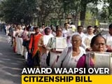 Video : Assam Agitation Martyrs' Families Return Awards To Protest Citizenship Bill