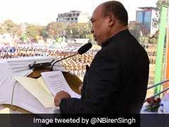 """Those Who Boycotted Republic Day Should Contest Polls"": Biren Singh"