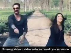 सनी लियोन ने पति संग इस सॉन्ग पर किया जबरा डांस, जंगल में आग की तरह फैल गया Video