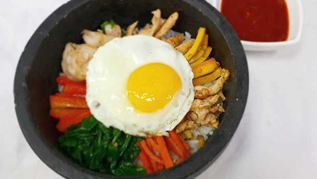 Korean Bibimbap Recipe By Rajesh Shetty Ndtv Food