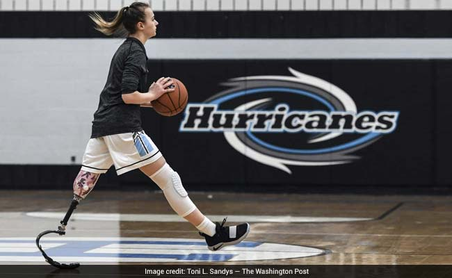 She Had Her Leg Amputated By Age 3. Now She Plays Varsity Basketball