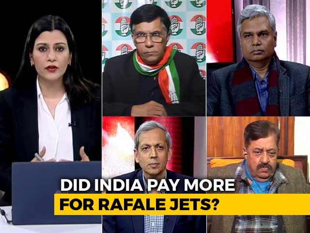 Video : Report Claims 41% More Paid For Each Rafale Jet: Congress Right In Asking For A Parliament Probe?