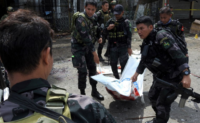At Least 18 Dead After Twin Bomb Attacks At Philippine Church