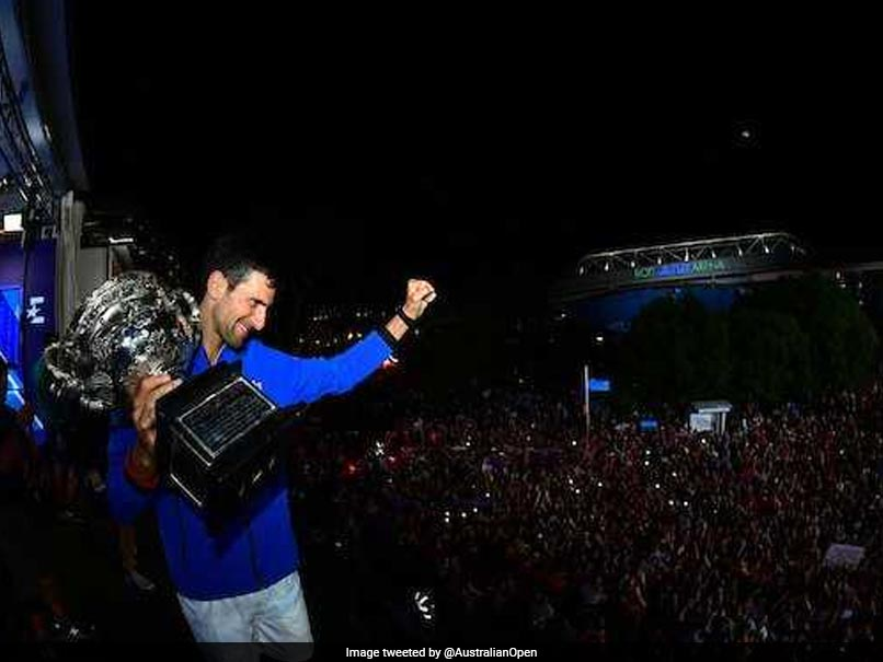 Watch: Novak Djokovic