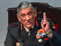 """Somebody Working Behind The Scenes"" To Disrupt Peace In J&K: Army Chief Bipin Rawat"