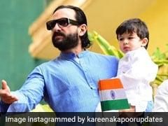 पापा सैफ अली खान के गोद में दिखे तैमूर, रिपब्लिक डे पर कुछ यूं मनाया जश्न- देखें Pics